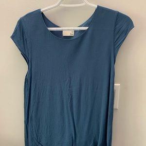 Aritzia blue shirt